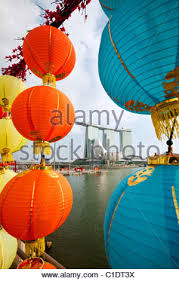 Tamil New Year Bay Decoration chinese new year decorations with the marina bay sands hotel in