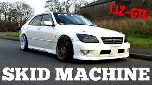 lexus is300 engine specs toyota altezza 1jz gte skid machine youtube