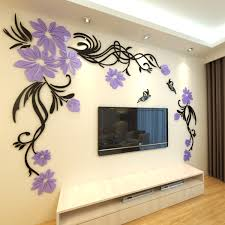 dimensional wall three dimensional wall stickers living room tv wall