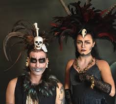 new orleans halloween feathers and skulls behind the scenes on mystic magic u0027s