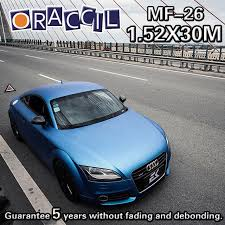 car wrapping paper high quality 1 52x30m car wrapping paper fiber matte blue vinyl on