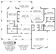 mark harbor 10025 1st floor coastal house plans covered porch