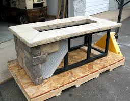 how to build a fire pit table beautiful building a gas fire pit outdoor bar stone in build designs