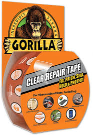 Car Upholstery Repair Tape Gorilla Clear Repair Tape Crystal Clear Tape Perfect For Any