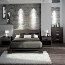Schlafzimmer Kreativ Einrichten Wandverkleidung Modern Schlafzimmer Laminat In Grau Und Holz