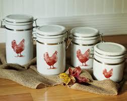 rooster kitchen canisters rooster kitchen canisters etsy il 340x270 1300579850 41bo 10