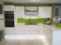 white gloss kitchen doors integrated handle masterclass italia white gloss kitchen units