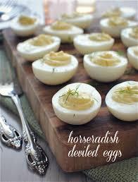 horseradish deviled eggs for jenny u0027s baby shower bev cooks