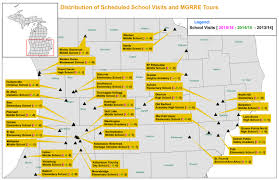 Map Of Lower Michigan by Classroom Visits And Wmu Geology Tours Corekids Western