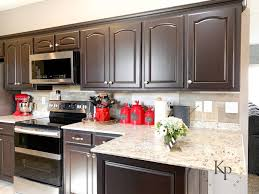 diy espresso kitchen cabinets it s true not everyone wants white kitchen cabinets