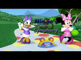mickey mouse clubhouse minnie u0027s skating symphony game
