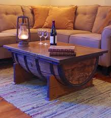 rustic livingroom furniture furniture wooden barrel coffee table for rustic living room