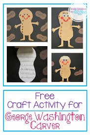 a craftivity project for george washington carver