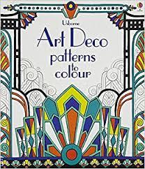 art deco patterns colour amazon uk emily bone mary