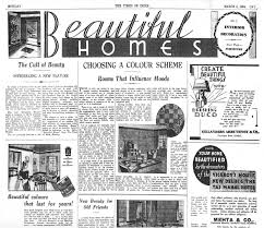 vintage ads how mumbai home decor was transformed by a global