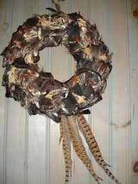 turkey feather wreath feather s by gayle turkey pheasant feather wreath