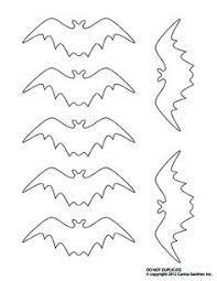martha stewart bat template spiders bats bat
