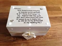 will you be my bridesmaid gifts shabby personalised chic gift will you be my bridesmaid gift