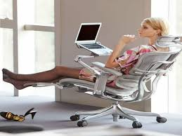 reclining desk chair with footrest desk design