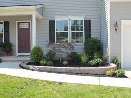 front yard flower bed landscaping ideas racetotop com