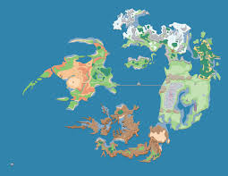 Fantasy World Maps by Has Anyone Seen This World Map And Bestiary Final Fantasy