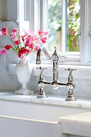 farmhouse kitchen faucets choosing a kitchen sink and faucet faucet countertop and sinks