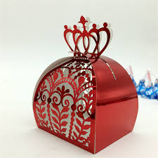 where to buy party favors crown laser cut vine flower gift candy boxes souvenirs wedding