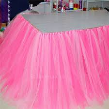 party table covers tulle table skirts party supplies cool toys gifts home