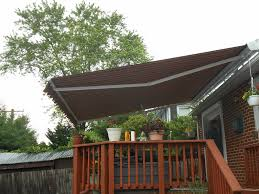 Pictures Of Roofs Over Decks by Retractable Awnings A Hoffman Awning Co