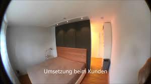 trennwand schlafzimmer begehbarer cabinet kleiderschrank als raumteiler in einem