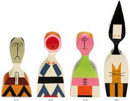 wooden dolls by alexander girard hivemodern com