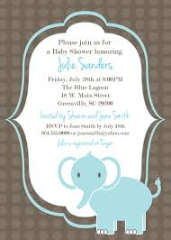 printable elephant baby shower invitations theruntime com