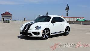 new volkswagen beetle 2016 2012 2016 volkswagen beetle rally bumper to bumper racing stripes