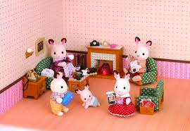 Sylvanian Families Luxury Living Room Set Store Petit - Sylvanian families luxury living room set