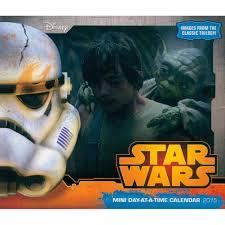 Small Desk Calendar 2015 Star Wars Saga 2015 Mini Desk Calendar 9781438831886