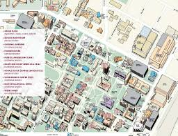 University Of Wisconsin Campus Map by Campus Map Ashecon 2014 Usc
