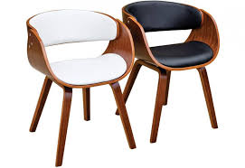 Occasional Dining Chairs Febland Brando Dining Chairs Walnut Effect Formed Plywood