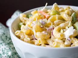Creamy Pasta Salad Recipes Creamy Macaroni Coleslaw Salad U2013 12 Tomatoes