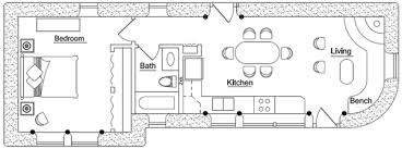 small house floor plans less than 500 sq ft earthbag building