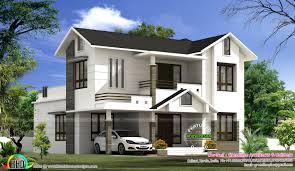 2199 sq ft simple modern home kerala home design bloglovin u0027