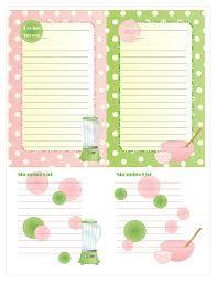 479 best scrapbook free printable recipe cards images on pinterest
