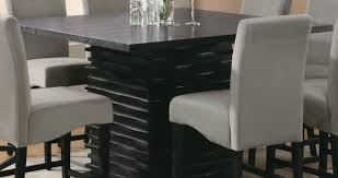 pub style dining room set bar beautiful bar height kitchen table and chairs including trex