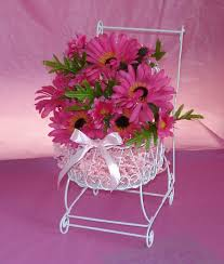 baby shower flower centerpieces pink flower centerpieces for baby shower baby shower decoration