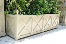 aluminum planters accents of france treillage garden design