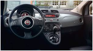 Fiat 500 Interior 2015 Honda Fit Vs 2015 Fiat 500 Comparison Review By Fiat Of