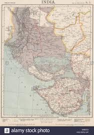 Hyderabad Map Nw India U0026 S Pakistan Sindh Gujarat Karachi Hyderabad Railways