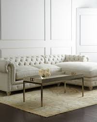 Right Sectional Sofa Warner Linen Right Chaise Sectional Sofa Neiman