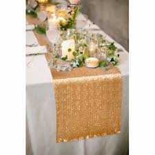 Modern Table Runners Gold Sequin Table Runner Wedding Home Table Decoration