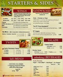 round table pizza fremont ca round table pizza menu menu for round table pizza newark newark