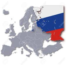 Map Russia Europe Map Russia Stock Photo Picture And Royalty Free Image